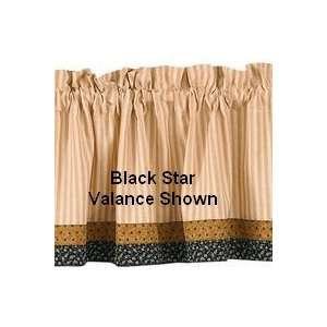 Black Star French Door Panel