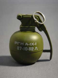 BUYING A BRAND NEW, ARMY GREEN COLORED HAND GRENADE CIGARETTE LIGHTER