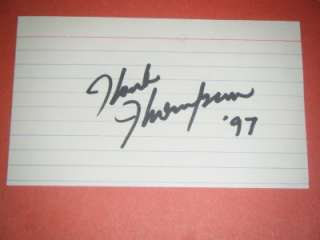 JANIS PAIGE SILK STOCKING SIGNED AUTOGRAPHED INDEX CARD