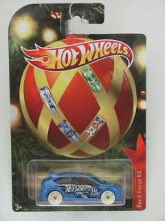 HOT WHEELS 2011 HOLIDAY HOT RODS FORD FOCUS RS