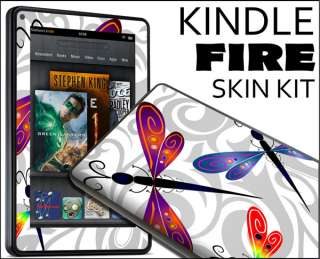 Kindle Fire Skin Vinyl Decal eBook Netbook Tablet #016 Dragon
