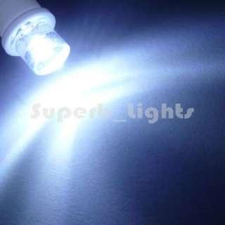 10x 194 168 2825 White LED Wedge Side Car Lights Bulbs
