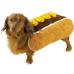 Casual Canine Polyester Hot Diggity Dog Costume, Large