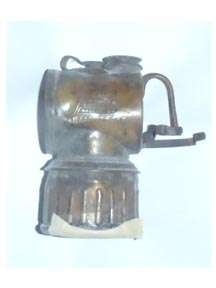 Miners Carbide Lamp JUSTRITE Coal mining lantern gold mine Antique