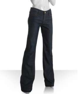 Earnes Sewn vinage blue wide flare leg jeans | BLUEFLY up o
