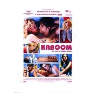 Kaboom by Greg Araki 2010 Cannes Film Festival Pressbook