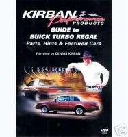 86 87 GRAND NATIONAL TURBO T TYPE GUIDE TO DVD