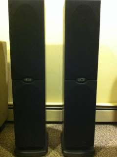POLK AUDIO TOWER SPEAKERS RT600I
