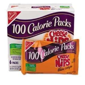 Nabisco 100 Calorie Packs Cheese Nips Grocery & Gourmet Food