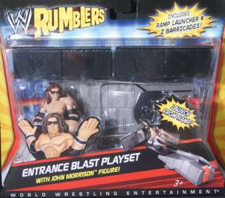 ENTRANCE BLAST PLAYSET   WWE RUMBLERS MATTEL TOY ACTION FIGURE