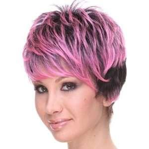 SEPIA Anna Wig (Hot Pink & Black) Beauty