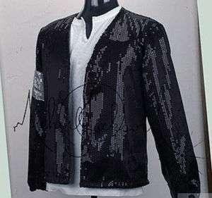 CHILD MICHAEL JACKSON Costume Billie Jean Sequin Jacket