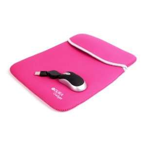 Laptop Case With USB Mini Mouse (Fits Dell Latitude D600, Sony