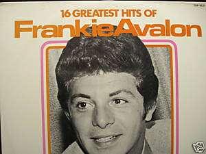 FRANKIE AVALON 16 Greatest Hits Vinyl Lp MINT Record
