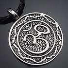 Aum Om Hindu Symbol religious Pendant with 20 Choker Necklace PP#221